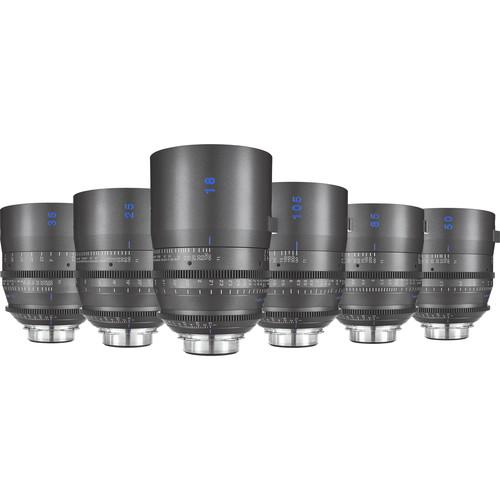 Tokina Vista One 6-Lens Kit PL Mount (18mm, 25mm, 35mm, 50mm, 85mm, 105mm)