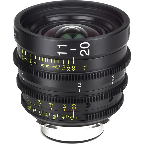 Tokina Cinema ATX 11-20mm T2.9 Wide-Angle Zoom Lens (LPL Mount)