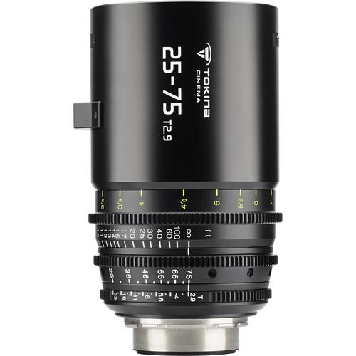 Tokina 25-75mm T2.9 Cinema Zoom Lens (E Mount)