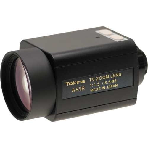 Tokina C-Mount 8.5 to 85mm F1.5 IR-Corrected Zoom Lens