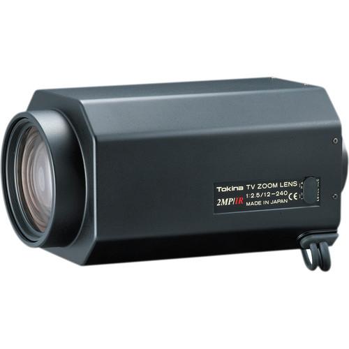 Tokina C-Mount 12-240mm f/2.5-360 2 Mp HD 20x Motorized Zoom Day & Night Lens with Video Auto Iris
