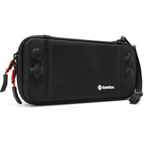tomtoc Eva Slim Hard Case for Nintendo Switch - Military (Black)