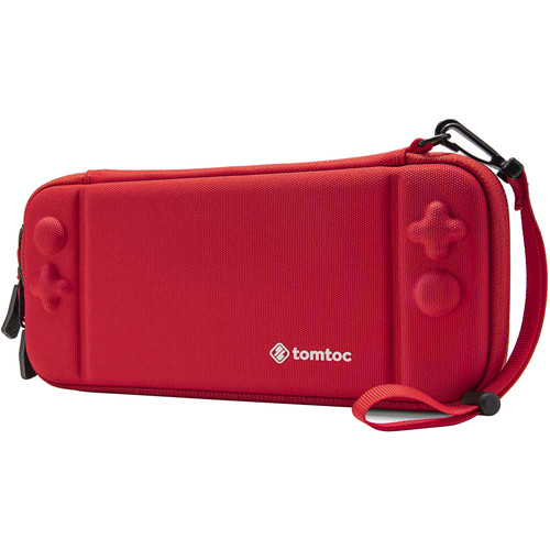 tomtoc Eva Slim Hard Case for Nintendo Switch - Military (Red)