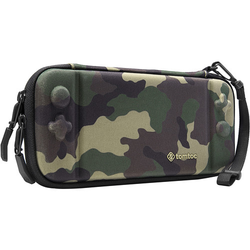 tomtoc Eva Slim Hard Case for Nintendo Switch - Military (Camouflage)