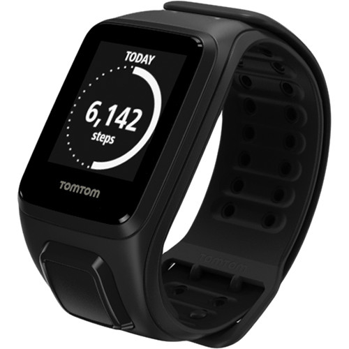 TomTom Spark Fitness Watch (Black, Large)