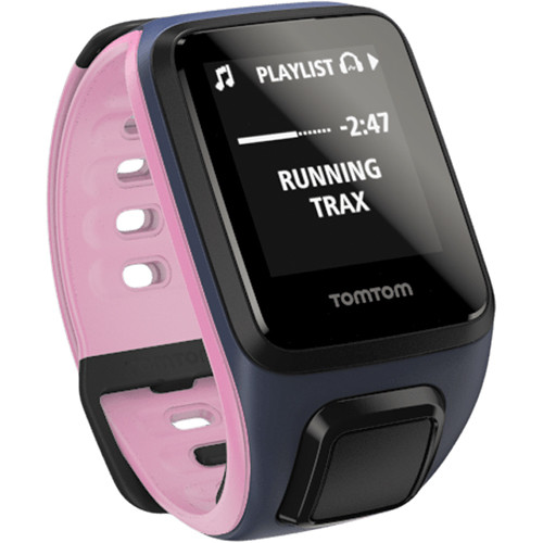 TomTom Spark Fitness Watch (Sky Captain Blue/Old Pink, Small)