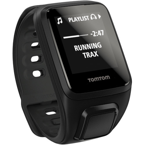 TomTom Spark Music Fitness Watch (Black, Small)