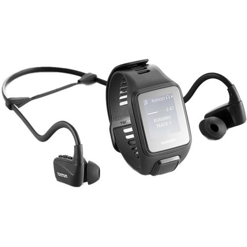 TomTom Spark 3 Music Fitness Tracker (Black, Large)