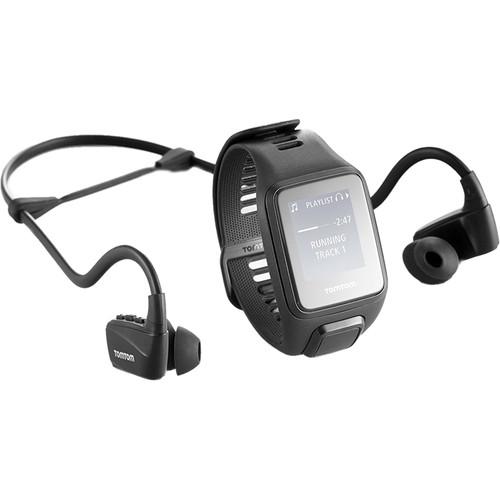 TomTom Spark 3 Music Fitness Tracker (Black, Small)