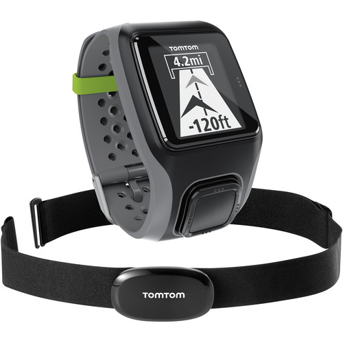 TomTom Multi-Sport GPS Sports Watch with Heart Rate 1RS0 ...