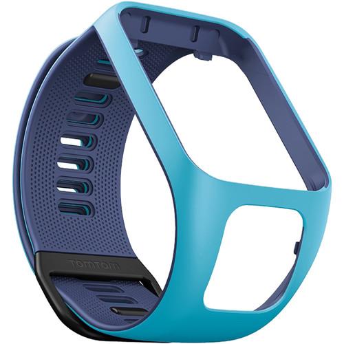 TomTom Spark 3 Watch Strap (Small, Light Blue/Dark Blue)