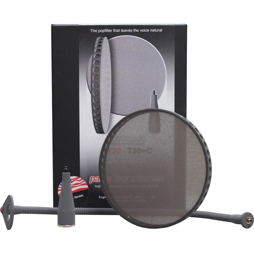 Ton Pauly PR120-T30 Superscreen Pop Filter with Silent Gooseneck