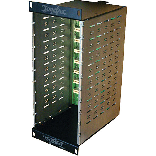 Tonelux V-Series Xrack 8-Space Vertical Rack with D-Sub I/O (No Power Supply)