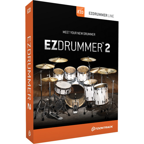 Toontrack EZdrummer 2 Virtual Drum Module Plug-In (Download)