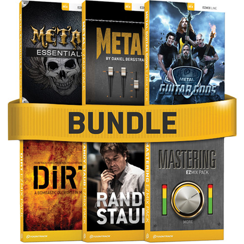 Toontrack EZmix Metal 6-Pack Software Bundle