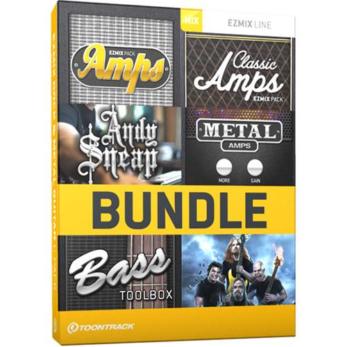 Toontrack EZmix 2 Rock & Metal Guitar 6 Pack - Preset Expansion Packs for EZmix 2 (Download)