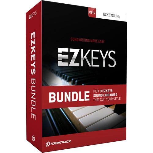 Toontrack EZkeys Bundle (Boxed)