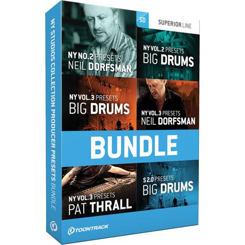 Toontrack N.Y. Studios Collection Producer Presets Bundle (Download)