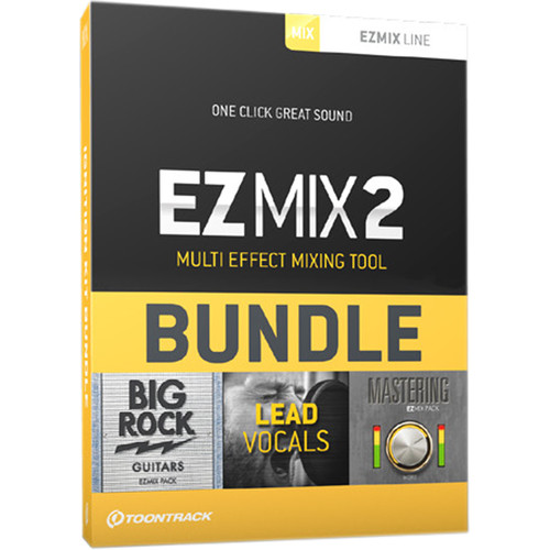 Toontrack EZ Mix 2 Ignition Kit - 3-Pack