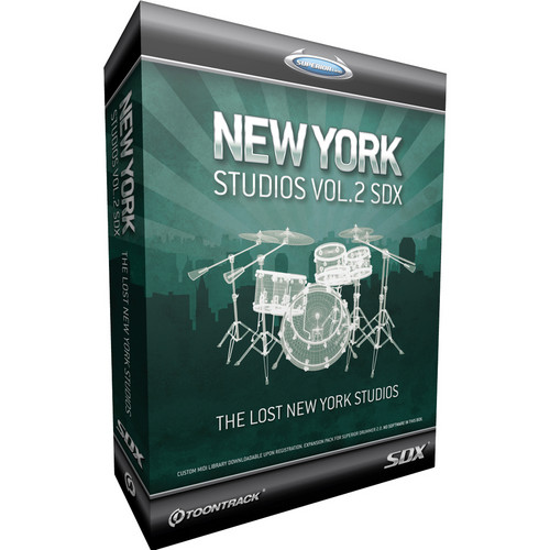 Toontrack New York Studios Legacy Series Volume 2
