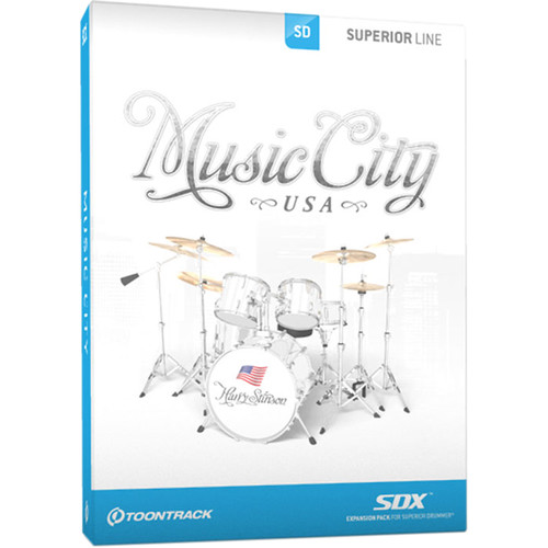Toontrack Music City USA