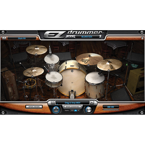Toontrack The Blues EZX Expansion for EZdrummer and Superior Drummer