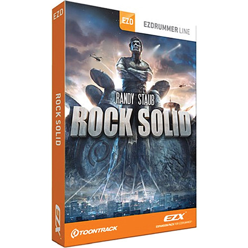 Toontrack Rock Solid EZX Expansion for EZdrummer and Superior Drummer