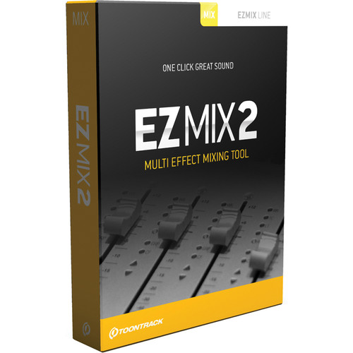 Toontrack EZmix 2 Upgrade - Virtual Effects Chains for Instruments and Channels (Download)