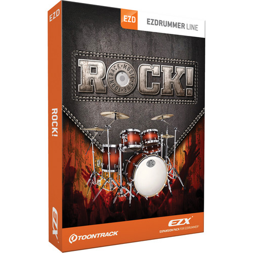 Toontrack Rock! EZX Expansion for EZdrummer