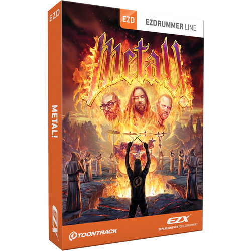 Toontrack Metal! EZX Expansion for EZdrummer and Superior Drummer