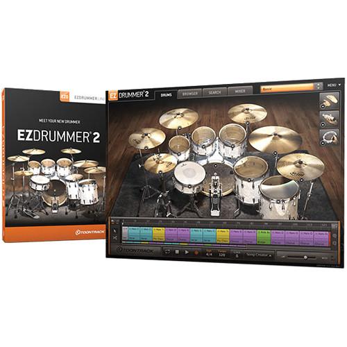 toontrack ezdrummer 2 virtual drum module plug in upgrade from ezdrummer lite. Black Bedroom Furniture Sets. Home Design Ideas
