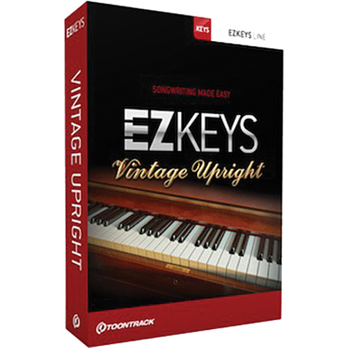 Toontrack EZkeys Vintage Upright - Virtual Instrument