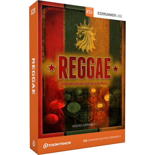 Toontrack Reggae EZX - Expansion Pack for EZdrummer 2 (Download)