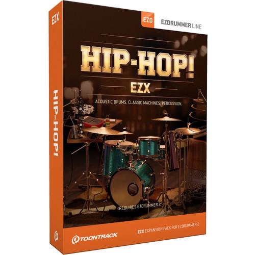 Toontrack Hip Hop! EZX - Expansion Pack for EZdrummer 2 (Download)
