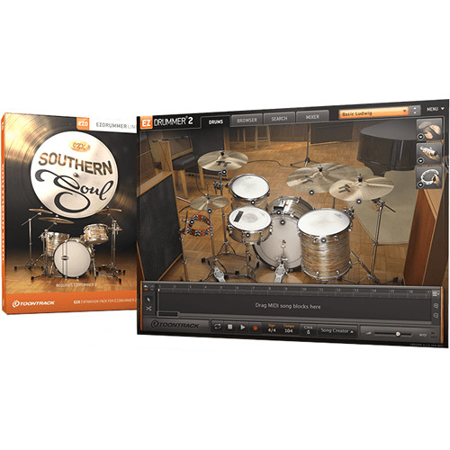Toontrack Southern Soul EZX Expansion Pack for EZdrummer 2 (Download)