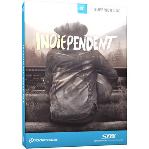Toontrack Indiependent SDX Vintage Drum Expansion for Superior Drummer 2.0