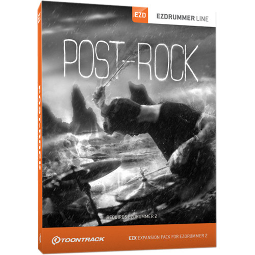 Toontrack Post-Rock EZX - Expansion Pack for EZdrummer 2 (Download)