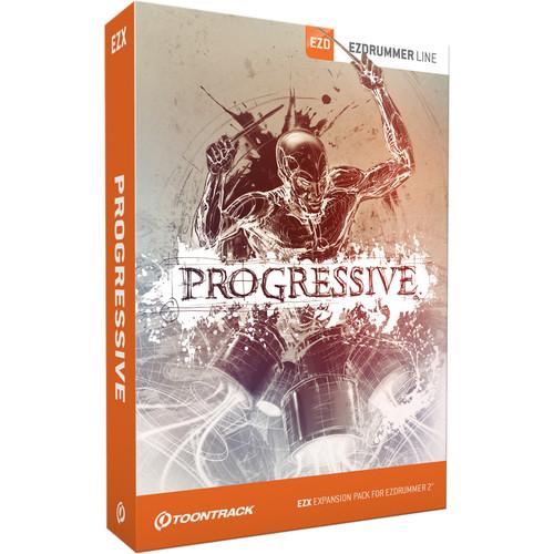 Toontrack Progressive EZX - Expansion Pack for EZdrummer 2 (Download)