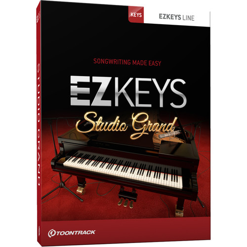Toontrack EZkeys Studio Grand - Virtual Piano (Download)