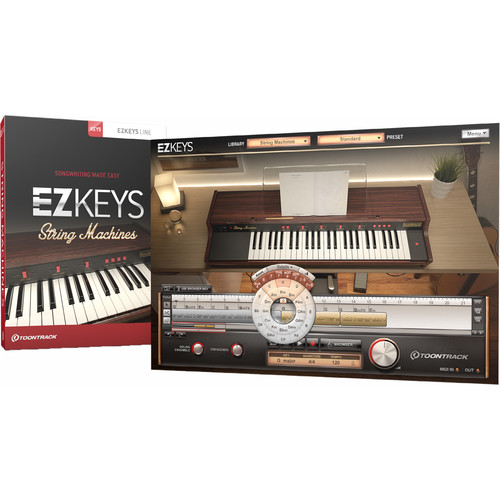 Toontrack EZkeys String Machine - Sampled Solina Virtual Instrument