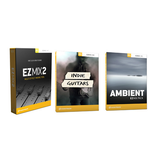 Toontrack EZmix 2 + Ambient and Indie Guitars EZmix Packs - Multi-Effect Plug-in with Expansion Packs Bundle (Download)