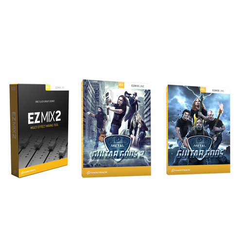 Toontrack Metal Guitar EZmix2 Value Pack