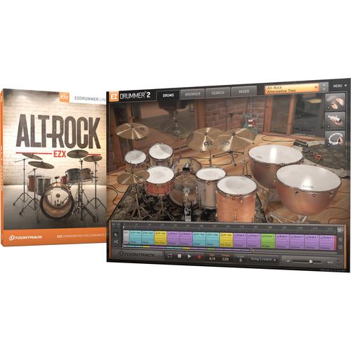 Toontrack Alt-Rock EZX - Expansion Pack for EZdrummer 2 (Download)