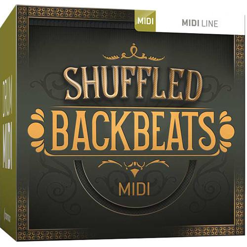Toontrack Shuffled Backbeats MIDI Drum Grooves for EZdrummer 2 or Superior Drummer 3 (Download)