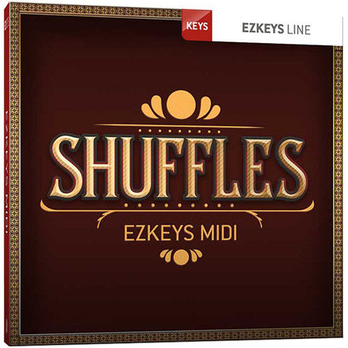 Toontrack Shuffles EZkeys MIDI Pack (Download)