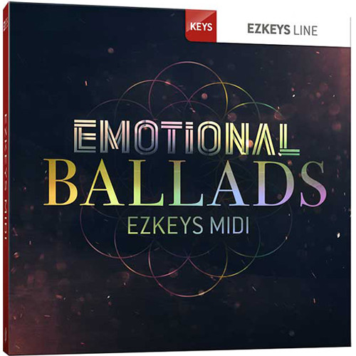 Toontrack Emotional Ballads EZkeys MIDI Pack (Download)