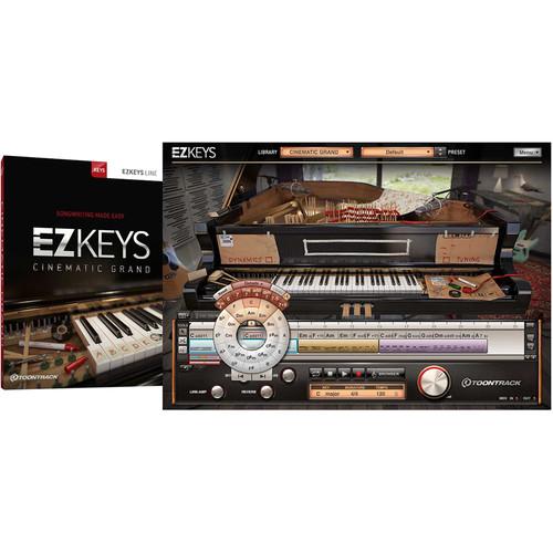 Toontrack EZkeys Cinematic Grand - Virtual Instrument Plug-In (Download)