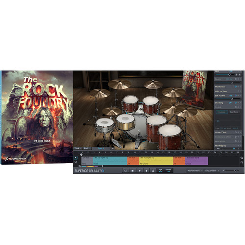 Toontrack The Rock Foundry SDX - Expansion Pack for Superior Drummer (Software)