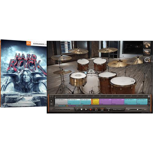 Toontrack Hard Rock EZX - Expansion Pack for Superior Drummer (Software)