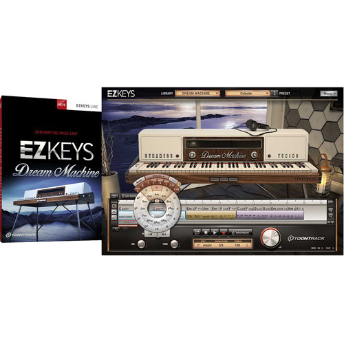 Toontrack EZkeys Dream Machine - Virtual Instrument and MIDI Library for Music Production (Software, Download)